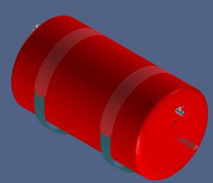 Hose floater CAD